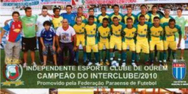 Independente Esporte Clube - campeão do Interclube de 2010 promovido pela Federação Paraense de Futebol - FPF, Por ALFREDO DA SILVA SANTOS SANTOS