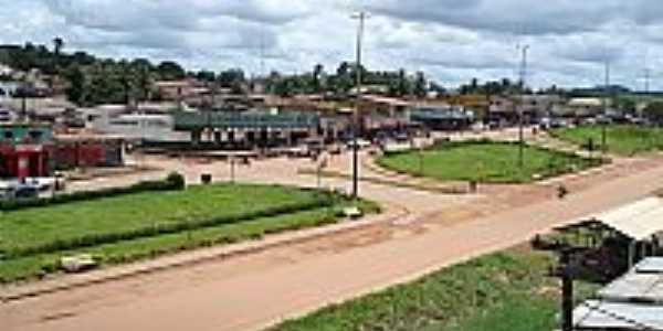 Avenida e a cidade de Pacajá-Foto:kainan