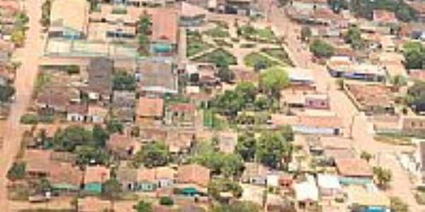 Vista aerea do Centro de Pacajá-Foto:Rainon Kahuna