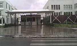 Cama�ari - Portaria da cidade do saber-Foto:jose luiz matias