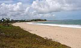 Camaçari - Praia de Jenipabu em Camaçari-BA-Foto:lobobrazil