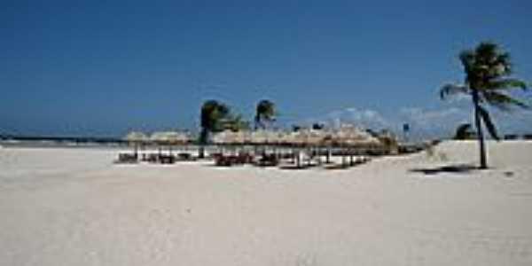 Vista da praia de Pesqueiro-Foto:Carlos Macapuna
