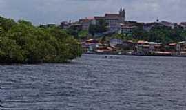 Camamu - Camamu-BA-Baia e a cidade-Foto:Fernando Freitas