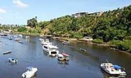 Camamu - Camamu-BA-Braço de Mar que passa pela cidade-Foto:Mone de Castro
