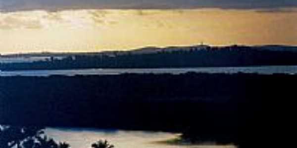 Camamu-BA-Anoitecer na Baia de Camamu-Foto:Joelcio Saturnino