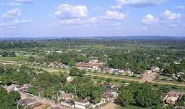Placas - Vista Aérea de Placas-Pará (Ao centro o Colégio Tancredo Neves) - por jefersonsants