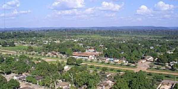Vista Aérea de Placas-Pará (Ao centro o Colégio Tancredo Neves) - por jefersonsants