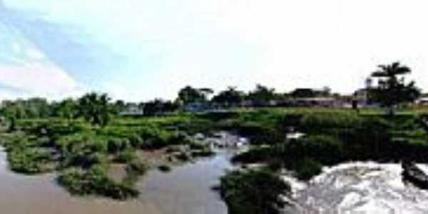 Porto Salvo-PA-O rio e parcial do Distrito-Foto:pt-br.facebook