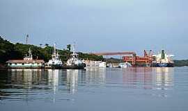 Porto Trombetas - Porto Trombetas-PA-Vista do Porto-Foto:Carolina Teixeira de Melo Franco