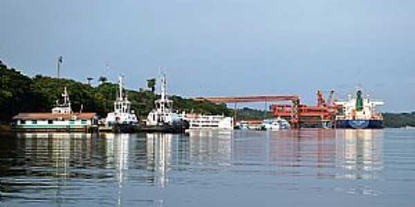 Porto Trombetas-PA-Vista do Porto-Foto:Carolina Teixeira de Melo Franco