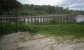 Prainha - Trapiche de madeira na Vila Prainha-PA-Foto:Carlos Fernando Mace�