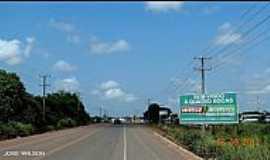 Quatro Bocas - Quatro Bocas-PA-Chegando na cidade pela Rodovia PA-140-Foto:Jose Wilson