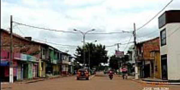 Quatro Bocas-PA-Avenida Central-Foto:Jose Wilson