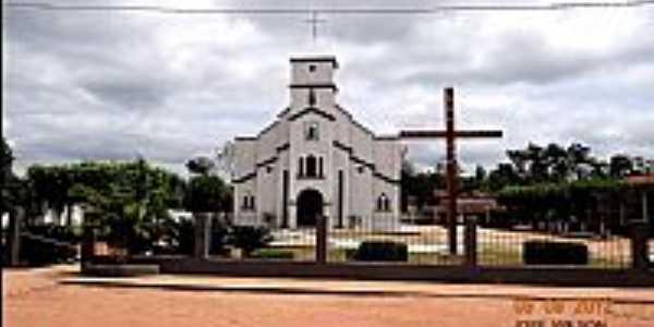Quatro Bocas-PA-Matriz de S�o Francisco Xavier-Foto:Jose Wilson