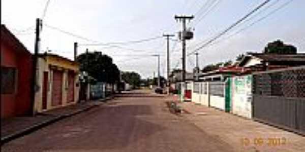 Quatro Bocas-PA-Rua Profª.Priscila-Foto:Jose Wilson