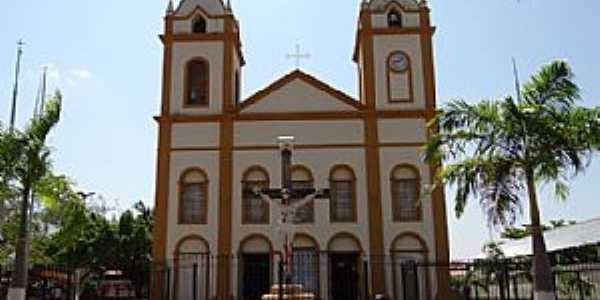 Redenção-PA-Matriz do Cristo Redentor-Foto:Valdecy Alves