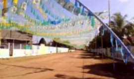 Rurópolis - ruas decoradas para a copa 2010, Por Ivanilde Matos de Oliveira