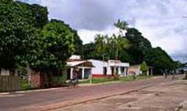 Santa Bárbara do Pará - Rua na Vila de Genipaúba-Foto:Odilson Sá