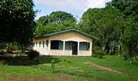 Santa Bárbara do Pará - Casa na Vila de Genipaúba-Foto:Odilson Sá