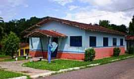 Santa Bárbara do Pará - Posto de Saúde-Foto:Odilson Sá