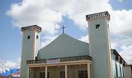 Santa Maria do Par� - Santa Maria do Par�-PA-Matriz de N.Sra.Auxiliadora-Foto:Vicente A. Queiroz