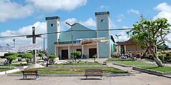Santa Maria do Pará-PA-Cruzeiro na Praça da Matriz-Foto:Rafael_Alves