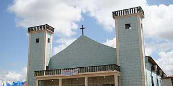 Santa Maria do Pará-PA-Matriz de N.Sra.Auxiliadora-Foto:Vicente A. Queiroz