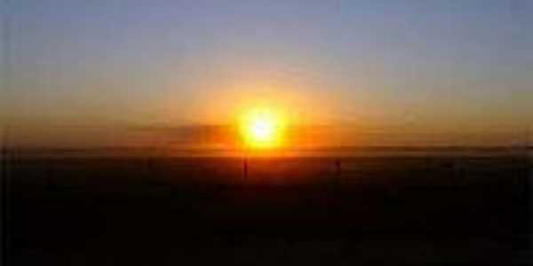 Pôr do Sol em Santana do Araguaia-Foto:achetudoeregiao.