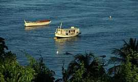 Santarém - Santarém-PA-Barcos no rio Tapajós-Foto:luciano passos cruz