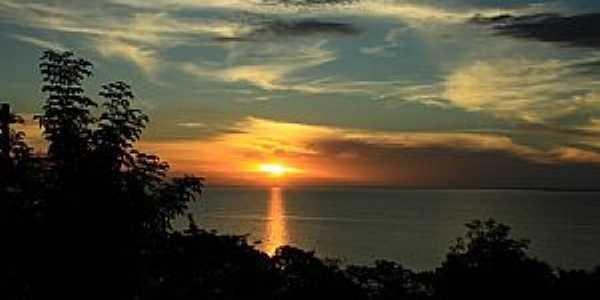 Santarém-PA-Pôr do Sol no Rio Tapajós-Foto:luciano passos cruz