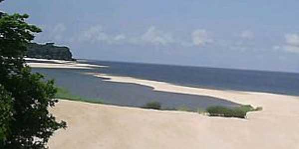 Santarém-PA-Praia em Santarém-Foto:ehospede.com.br