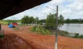 Santarém Novo - Orla do rio Maracanã, na Cidade de Santarém Novo., Por Fernando Macedo.