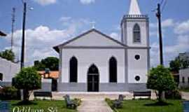 São Caetano de Odivelas - Igreja Matriz de São Caetano de Odivelas-PA-Foto:Odilson Sá
