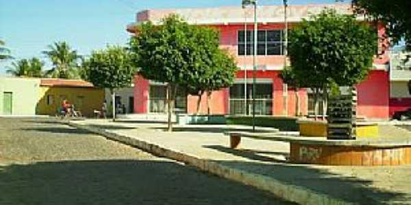 Campo Alegre de Lourdes-BA-Praça Nelson Dias-Foto:Cidade Brasil