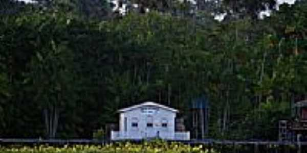 Igreja Adventista do Brasil em São Francisco da Jararaca-Foto:Heraldo Amoras