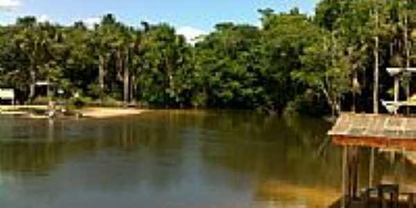 Rio Marapanin em São Francisco do Pará-PA-Foto:PEDRO PAULO