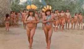 São Geraldo do Araguaia - São Geraldo do Araguaia -aldeia indígena -  Por Roberto M
