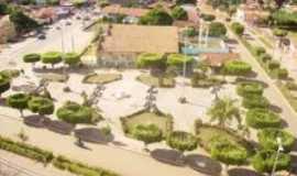 São Geraldo do Araguaia - Praça Edson de Jesus, Por Leandro de Sá