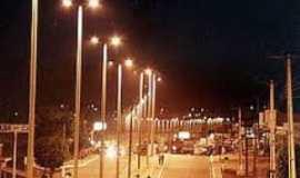 São Geraldo do Araguaia - avenida castelo Branco a noite, Por Leandro de Sá