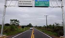 S�o Jo�o da Ponta - S�o Jo�o da Ponta-PA-Chegando na cidade-Foto:www.agenciapara.com.br