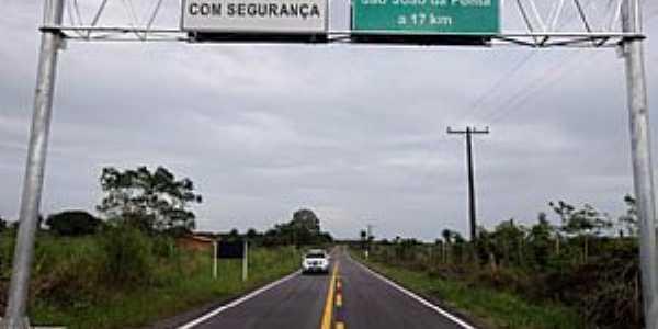 S�o Jo�o da Ponta-PA-Chegando na cidade-Foto:www.agenciapara.com.br