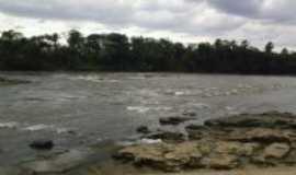 São Miguel do Guamá - beira rio seca, no verão, Por JOELSON FURTADO
