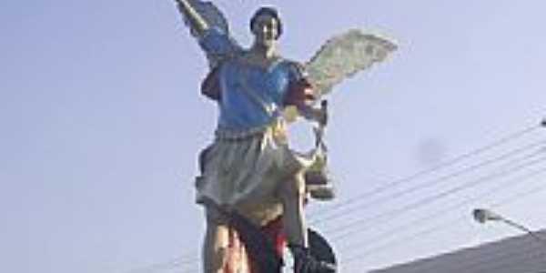 Imagem em homenagem à São Miguel Arcanjo em São Miguel do Guamá-PA-Foto:Guilherme J. Corrêa