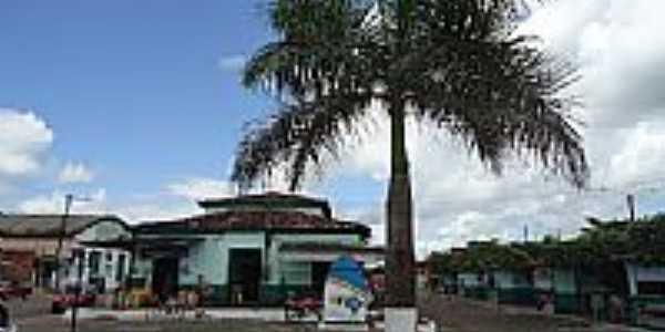 Praça central em São Miguel do Guamá-PA-Foto:PEDRO PAULO