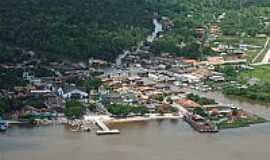 São Sebastião da Boa Vista - Vista aérea-Foto:Mauro Veloso