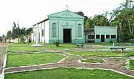 Tauari - Tauarí-PA-Praça e Igreja-Foto:jeanderson