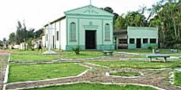 Tauarí-PA-Praça e Igreja-Foto:jeanderson