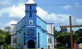 Tom�-A�� - Igreja de S�o Francisco Xavier em Tom�-A�u-PA-Foto:Reginaldo Abreu