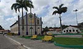 Tracuateua - Tracuateua-PA-Praça e Matriz de São Sebastião-Foto:Carlos Fernando Mace…