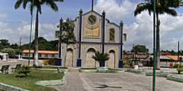 Tracuateua-PA-Praça e Matriz de São Sebastião-Foto:Elivaldo Duarte